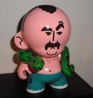 Jake 'The Snake' Munny by mightyquarfoth