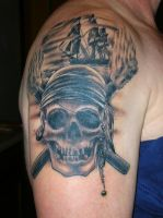 Pirate Tattoo by jackwee1