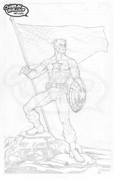 Captain America by ChipWallace