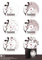 Paietakht CD label by arsalan-design