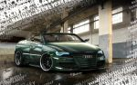 Audi S4 Green Monster by BarneyHH