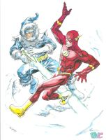 Flash Captaincold Copicfinished by FlatsNColors