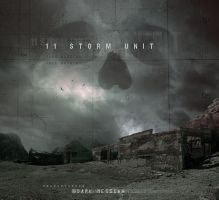11STORMUNIT cover artwork by Karezoid