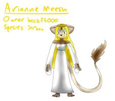 Arianne Meesh (Revived) by TipsyRa1d3n
