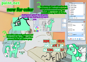 How to Use..... MLP Pony Base- Paint.Net Part 3 by TheYUO