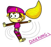 Dixie Kong by conkeronine