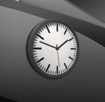 3D Analog Clock for xwidget by Jimking
