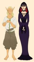 Nathanial and Rosemary by Chopstuff