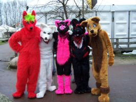 Midwinter fair group pic by FurryFursuitMaker