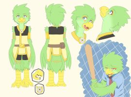 Reference sheet - Arlia by z0rgy