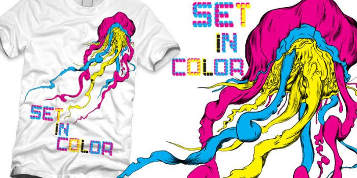 Set In Color T-shirt Contest 1 by StevenSmithArt