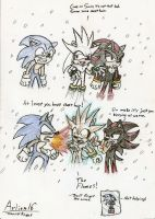 Hedgies in the Snow by Arlion16