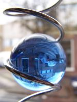 reflection in bulb by marob0501