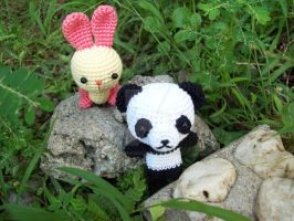 bunny and panda 4 by oddSpaceball