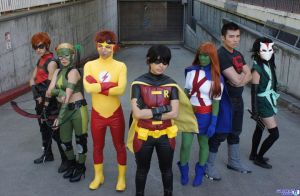 young justice group by ohjimmyboy
