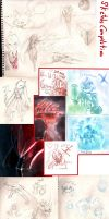 Sketch Compilation 01 by PtolemaiosLS