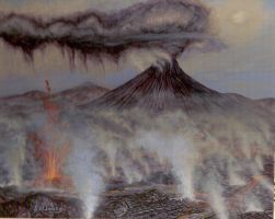 Mount Doom by artgent