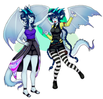 Commission_Blueberrygoblin 2 by d-clua