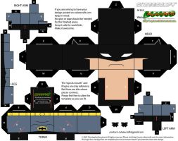 The Batman cubee - body by MysterMDD