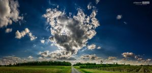 Cloud heart by NorbertKocsis
