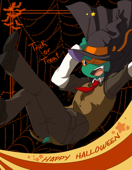Happy Halloween by Miles-Loves
