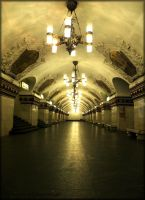 Art of Moscow Metro. 08. by VeIra-girl