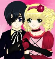 Ciel x Lizzy by and-thats-how-i-roll