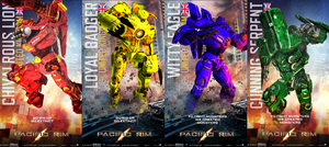 Harry Potter-Inspired Pacific Rim Jaegers by MonsieurArtiste