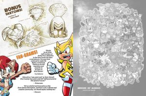 Sonic Art Collection (Page 72-73) by darkspeeds
