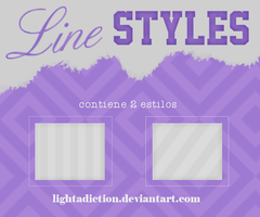 +Line Styles. by LightAdiction