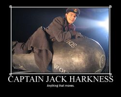 Captain Jack Harkness by NickieisaMagicBunny
