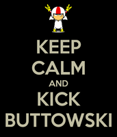 Keep calm and kick buttowski by sleeper-dupster