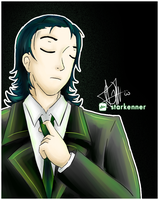 Loki - A Green Suit by starkenner