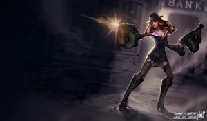 LoL - Mafia Miss Fortune by KNKL