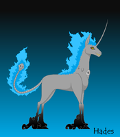 Villainous Disney Unicorns - Hades by BambisParanoia