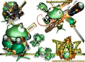 Tzardz- Frogs by whodagoose