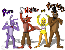 Five Nights at Freddy's by Cephei97