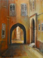 (Arches) oil paint by Boias