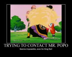 Contacting Mr. Popo--(Poster) by XPvtCabooseX