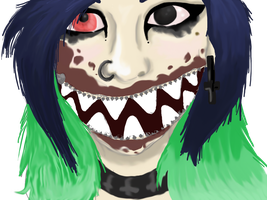 Zipper Mouth by TheFrymon