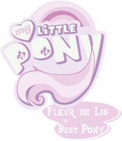 MLP. My Little Pony Logo - Fleur de Lis by jamescorck