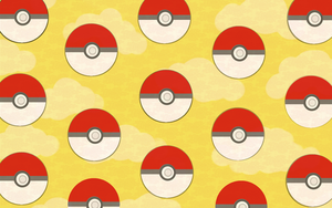Pokeball .Free Background. by scribblin
