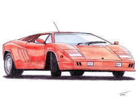 1211 - 05-02 - 1987 Lamborghini Countach L150 by TwistedMethodDan