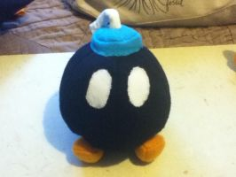 Bob-Omb Fleece Plushie by TheEccentric-1