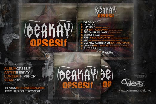 Berkay - Opsesif Cover by BossmanGraphic
