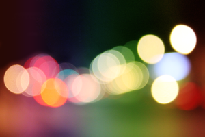 Rainbow Bokeh by PhotoSoof