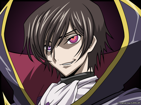Lelouch: Grin by zomgspongelolbob48