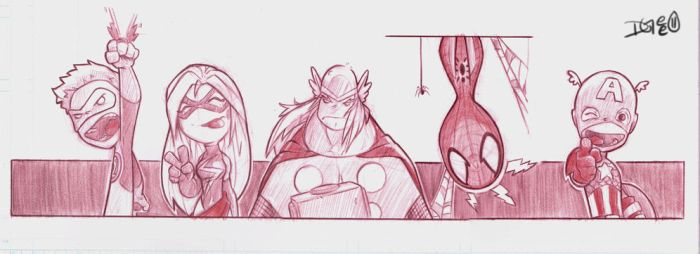 MarvelDC Commish 2 by D-Gee
