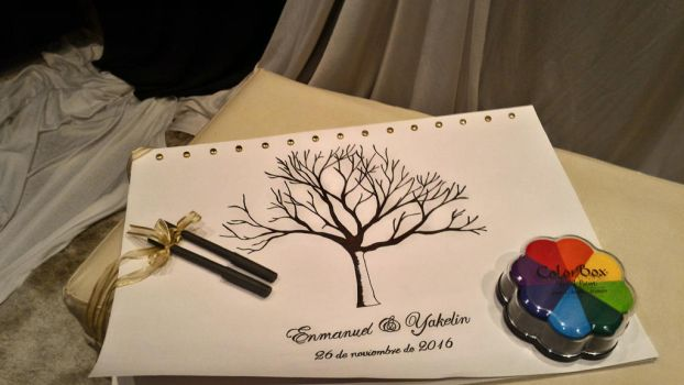 Memento wedding tree by cross881