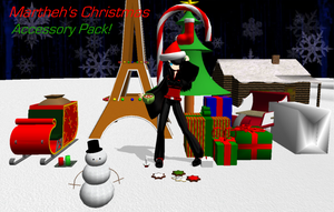 :Christmas Acc. Pack Preview: by TwilightMarth